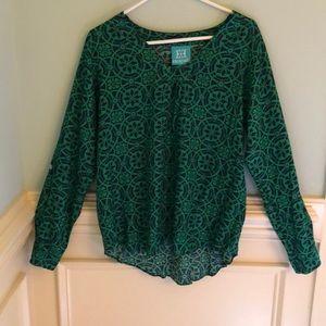 Escapada, Women's size L resort blouse